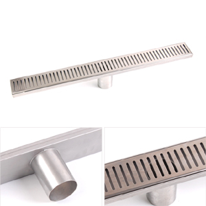 Stainless steel linear shower drain, XCFD-20