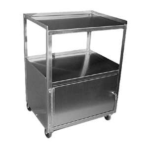 Stainless steel mobile cabinet, XCEN-24