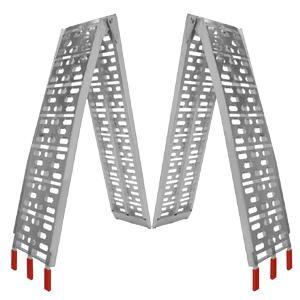 Arched Foldable Loading Ramp