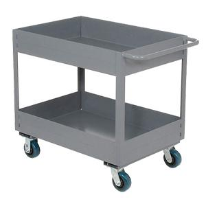 Library serving trolley cart