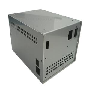 Metal electronic chassis and enclosures