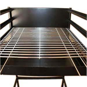 Metal welding barbecue grill