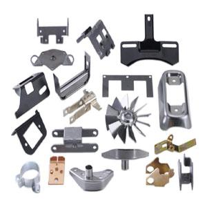 Precision stamped metal parts