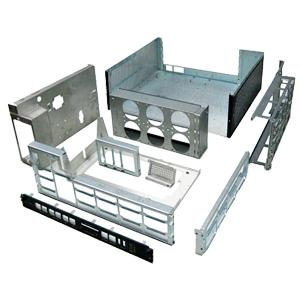Sheet metal enclosure and chassis