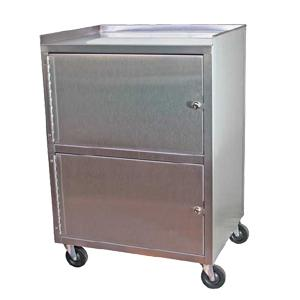 Stainless steel storage mobile cabinets