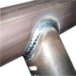 Metal tube welding parts