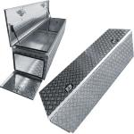 Side open aluminium tool boxes